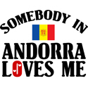 Somebody In Andorra T-shirts