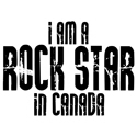 Rock Star in Canada T-shirt