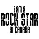 Rock Star in Canada T-shirt
