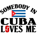 Somebody In Cuba T-shirt