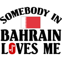 Somebody In Bahrain T-shirt