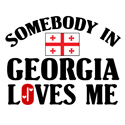 Somebody In Georgia T-shirt