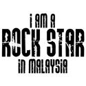 Rock Star In Malaysia T-shirts