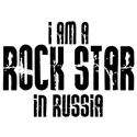 Rock Star In Russia T-shirts