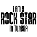 Rock Star In Tunisia T-shirts