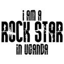 Rock Star In Uganda T-shirts