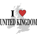 I Love United Kingdom Gifts
