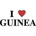 I Love Guinea T-shirts