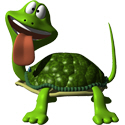 Cute 3D Turtle T-shirts