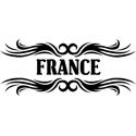 Tribal France T-shirt