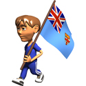 3D Fiji T-shirts