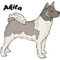 Akita T-shirt, Akita T-shirts