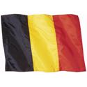 Wavy Belgium Flag