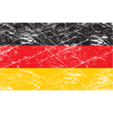 Vintage Germany Flag