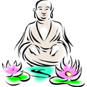 Buddha Sitting On Lotus