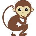 Monkey T-shirt, Monkey Gift, Monkey Gifts