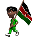 3D Kenya T-shirt