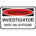 Investigator T-shirt, Investigator T-shirts