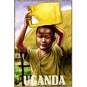 Vintage Uganda Art