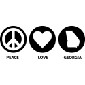 Peace Love Georgia