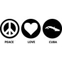 Peace Love Cuba
