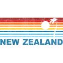 Retro New Zealand Palm Tree