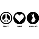 Peace Love Finland
