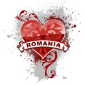Heart Romania T-shirt