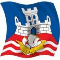 Wavy Beograd Flag