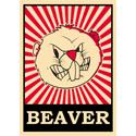 Pop Art Beaver