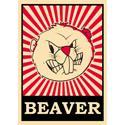 Pop Art Beaver