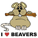Beaver T-shirt, Beaver T-shirts