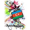 Flower Azerbaijan T-shirt