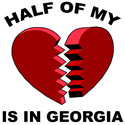 Heart In Georgia T-shirts
