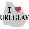 I Love Uruguay Gifts