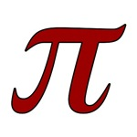 Pi Symbol (red)