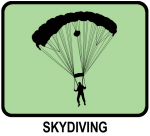Skydiving (GREEN)