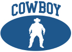Cowboy (blue circle)