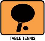 Table Tennis (orange)