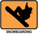 Snowboarding (orange)