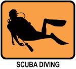 Scuba Diving (orange)