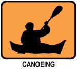 Canoeing (orange)