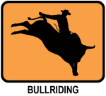 Bullriding (orange)