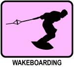 Wakeboarding (pink)