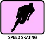 Speed Skating (pink)