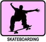 Skateboarding (pink)