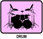 Drum (pink)