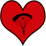 I heart Skydiving