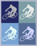 Cycling (blue boxes)