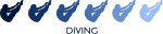 Mens Diving (blue variation)